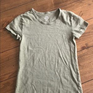 Camo Green J Crew Painter T-Shirt